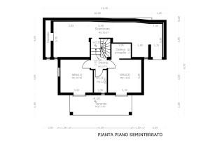 Abitazione 3A seminterrato quotato in Villaggio La Pinnetta Sardegna