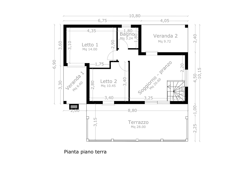 Casa lotto 30 in vendita villaggio La Pinnetta Sardegna